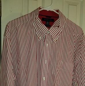 XL Tommy Hilfiger long sleeved dress shirt